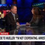 Erin Burnett interviewing Sam Nunberg on March 6.